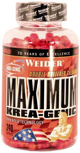 Weider, Maximum Krea-Genic, (1x 240 Kapseln)