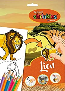 Shrinkles Shrinkles-WZ064 wz064 Original World Wildlife León Slim Pack, Color Desconocido (Keycraft