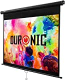 """Duronic MPS80/43 Manual Pull Down HD Projection Screen For 