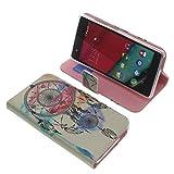 Tasche für Wiko Pulp 4G Book Style Traumfänger Schutz