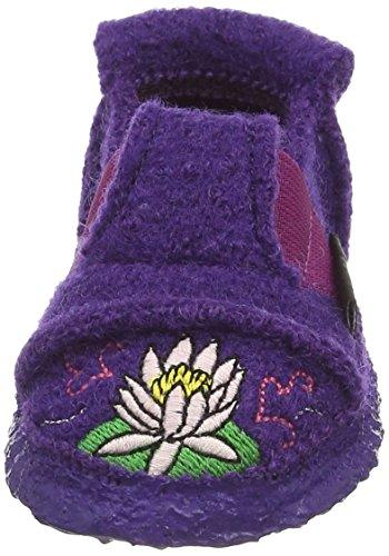 Nanga Lotus Mädchen Flache Hausschuhe Violett (pflaume / 49)
