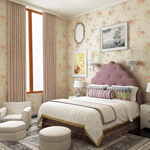 Longless Tapeten, pastoralen, Tapeten, 3D, Vliesstoffe, Umweltschutz, Wohnzimmer, Schlafzimmer, TV, Hintergrund, Hintergrundbild, 10*0.53M