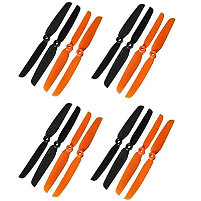 Rcmodelpart GemFan 6X3 6030 Multi-rotor CW CCW Propeller QAV250 Quadcopter 250 Mini Quad Prop(pack of 8 pairs) from GemFan