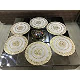 Style Your Home Round Dining Table Mats/Round Kitchen Place Mats,15 By 15 Inches Table Mats 38 X 38 Cm,Set Of - 6 Pcs