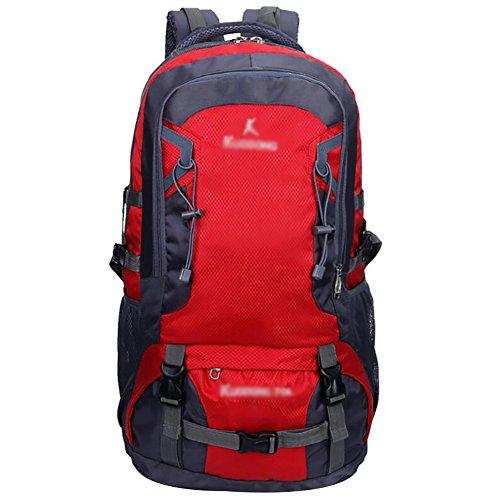 HWLXBB Outdoor Bergsteigen Tasche und Frauen 70L Wasserdichte Mehrzweck-Bergsteigen Tasche Wandern Camping Bergsteigen Rucksack 4*