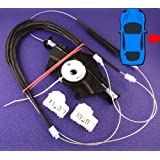 VW Passat Electric Window Regulator Repair Kit- Front Right Drivers Window (Cables, Winder, Fastenings) - FREE FIRST CLASS UK POSTAGE!