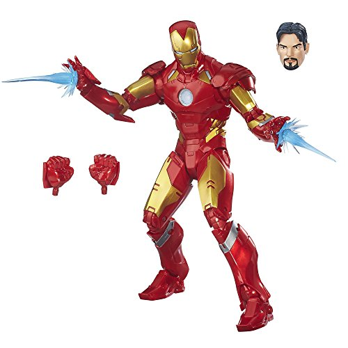 Avengers Marvel - Figura Iron Man, Legends (Hasbro B7434EU4)