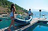 Sevylor Kanu aufblasbar Riviera Faltkajak, 2 Personen, Kanadier inkl. Paddel, 315 x 84 cm Test