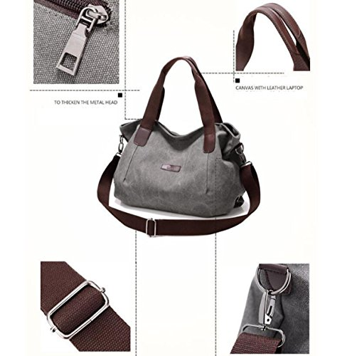 Mode Freizeit Kunst Frau Schulter Kurierbeutel Laptop Große Kapazität Einfache Große Taschen Stofftaschen Personalisierte Multifunktional Handtasche Kragen White