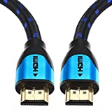 HDMI Kabel 20M - Pro Blue - HDMI 2.0 a/b kompatibel - HDR / Ultra HD 4K (2160p) / Full HD 1080p - Hohe leistung mit 3D, Ethernet und Audio Return Channel (ARC) - Mehrfach Schirmung