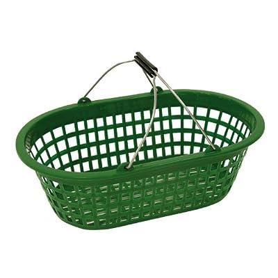 Xclou 343183 Gartenkorb oval 15 kg, Kunststoff, grün von Xclou auf Du und dein Garten