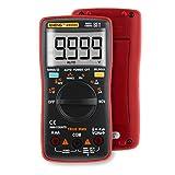 Multimeter Digital, Hunpta@ Auto Range Digital Multimeter Ohmmeter Amperemeter Spannung Aktuelle Temperatur Meter (Rot)