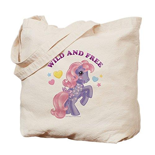 Pony Retro Wild and Free Tragetasche, canvas, khaki, M ()
