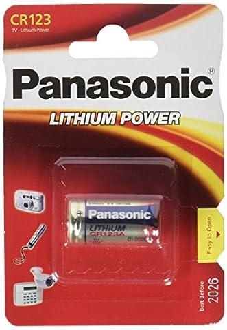 PANASONIC CR123 1 Pile 3V Lithium