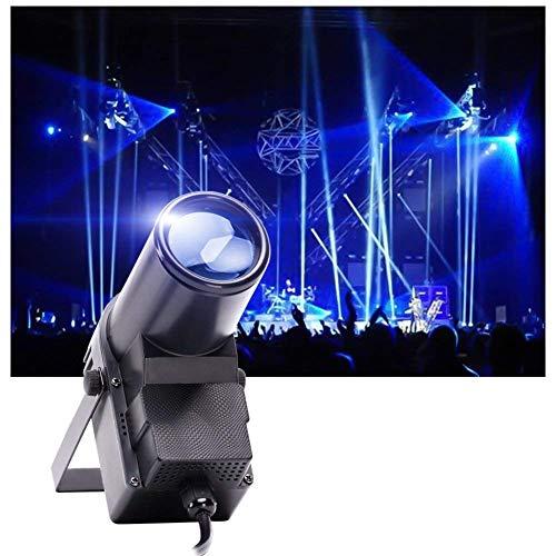 UKing LED-Lichter mit 30 W RGBW Bühnenstrahler Effekt von DMX 512, ideal für Zuhause DJ Disco Hochzeit Dance Party Spiegel Ball Beleuchtung (schwarz)
