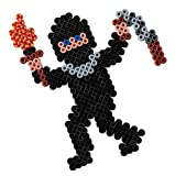 Hama 207-18 Beads - Black (1000 Midi Beads)