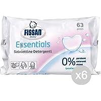 Set 6 FISSAN Haute Protection Lingettes Bebe X 63 Hygiene Et Prise En Charge De L'Enfant