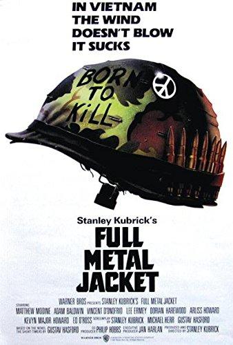 Close Up Full Metal Jacket Poster Helmet (68cm x 98cm)