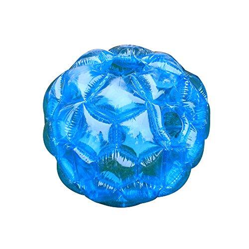 Blue Buddy Stoßstange Ball Aufblasbare Blase Fußball Ball, schwere dauerhaft PVC Vinyl, Kinder Erwachsene Outdoor Spiel Ball Spiele (Themen Für Erwachsene Geburtstagsfeiern)