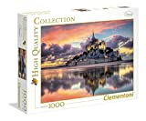 Clementoni - 39367 - High Quality Collection Puzzle - Le Magnifique Mont Saint-Michel - 1000 Pezzi