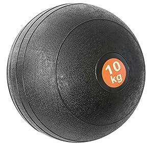 Slam Ball 10kg schwarz Medizinball Krafttraining Bootcamp Gewichte schwarz
