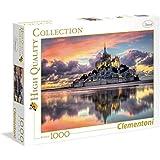 Clementoni - 39367 - Puzzle - High Quality Collection - le Magnifique Mont Saint - Mi - 1000 Pièces