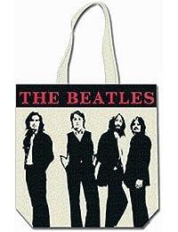 The Beatles Tragetasche White Photo