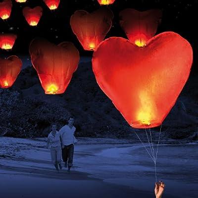 Nakamari Schwebende Herz-Glückslaterne inkl. Schnur von Nakamari auf Du und dein Garten