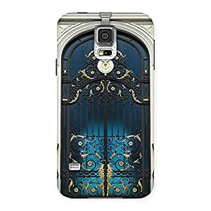 Gorgeous Royal Door Print Back Case Cover for Samsung Galaxy S5