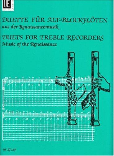 Duette aus der Renaissancemusik: für 2 Altblockflöten. Spielpartitur.