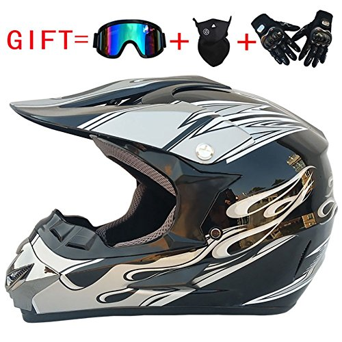 Adult Offroad Helm, Mountainbike, Beach Motocross Helm,B,M