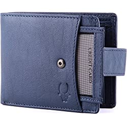 Wildhorn Wh271Gw Blue Men's Wallet