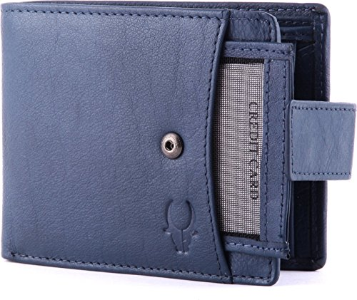 WildHorn Blue Men's Wallet (WH271GW)
