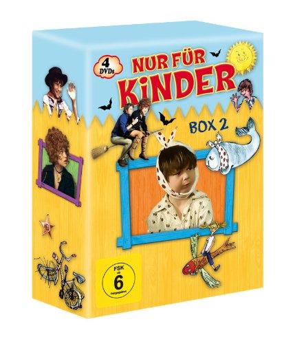 Nur für Kinder - Box 2 (Saxana/Der lange Ritt zur Schule/Wie man einem Wal den Backenzahn zieht/Die dicke Tilla) (4 DVDs)