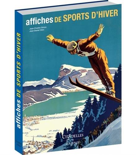 Affiches de sports d'hiver par Jean-Daniel Clerc