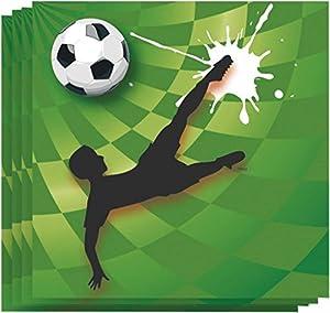 speel Goed 435260-Goal Servilletas, Otras Juguetes, 33x 3, 20Unidades