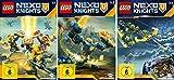 Lego Nexo Knights - Staffel 3 (3.1+3.2+3.3) im Set - Deutsche Originalware [3 DVDs]
