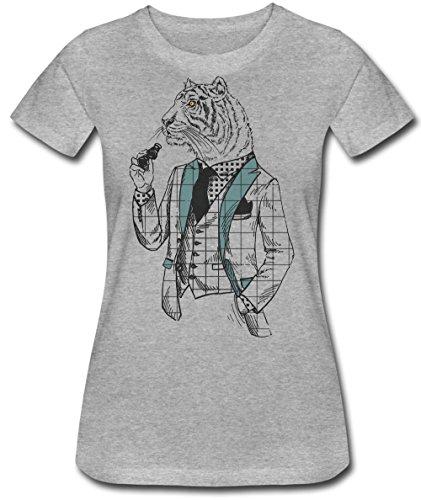 uxedo and Binoculars Frauen Women's T-Shirt XX-Large ()
