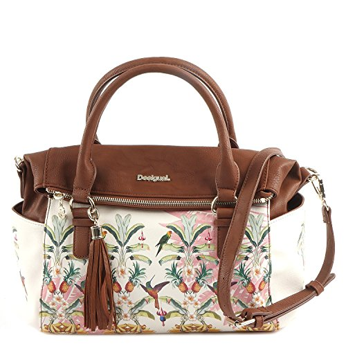 DESIGUAL Designer Tasche - Loverty Tropicalicious - Crudo
