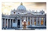 iRocket interior Suelo Alfombra/Alfombrilla–Basílica de San Pedro (23.6'x 15.7', 60cm x 40cm)