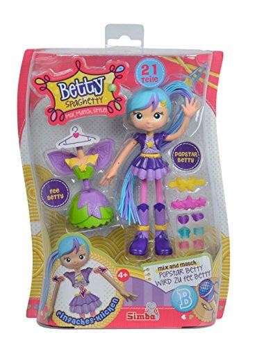 Preisvergleich Produktbild Simba 109281000POP - Betty Spaghetti Puppe Popstar/Fee