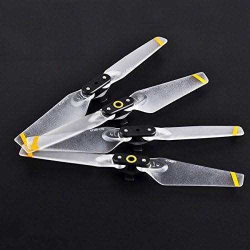 4pcs DJI SPARK 4730F Propellers Quick-release Foldable Transparent Blades for DJI SPARK White | De Gagner Une Grande Admiration Et Est Largement Confiance à La Maison Et à L'étranger