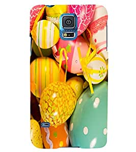 PRINTSWAG COLOURFUL THEMES Designer Back Cover Case for SAMSUNG GALAXY S5