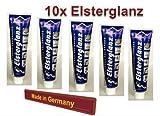 10x Elsterglanz Universal Polierpaste Metall Waschcreme Reinigung 40ml
