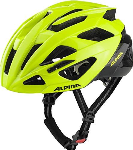 ALPINA Valparola - Casco de Bicicleta - Verde/Negro 2019