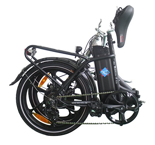 Hochwertiges RSM Elektro Klappfahrrad Mobilist 20' E- Bike Pedelec Farbe schwarz