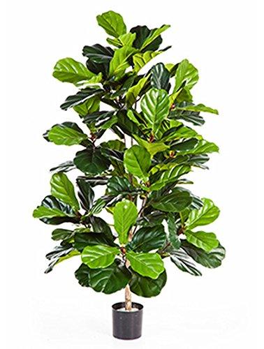 Geigenfeige 130 cm große Kunstpflanze hochwertig Deko-Pflanze wie echt 1 Pflanze