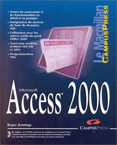Access 2000 (avec CD-ROM)