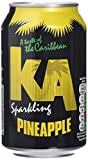 KA Sparkling Pineapple Cans, 330 ml, Pack of 24