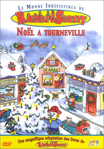 Richard Scarry : Noël à Tourneville